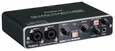 Внешняя звуковая карта Roland UA-55 Quad-Capture