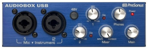 Внешняя звуковая карта PreSonus AudioBox USB