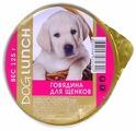 Корм для собак Dog Lunch Крем-суфле говядина для щенков