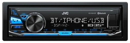Автомагнитола JVC KD-X341BT