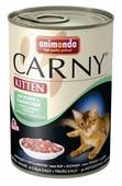 Корм для котят Animonda Carny беззерновой, с курицей, с кроликом (паштет)