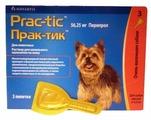 Капли от блох и клещей Novartis Прак-тик для собак и щенков