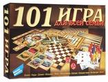 Набор настольных игр Dream Makers 101 игра для всей семьи New (1601H)