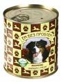 Корм для собак Ем Без Проблем Зооменю для собак Барашек с рисом