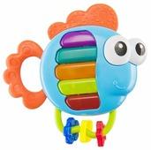 Прорезыватель-погремушка Happy Baby Piano Fish