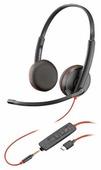 Компьютерная гарнитура Plantronics Blackwire 3225 USB-C