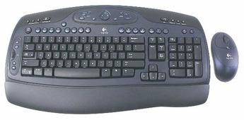 Клавиатура и мышь Logitech LX-500 Black USB+PS/2