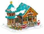 3D-пазл CubicFun Рождественский домик 3 (P649h), 43 дет.