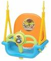 Edu-play Детские качели подвесные 3 в 1 Мелодия Hutos