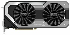 Видеокарта Palit GeForce GTX 1070 1506MHz PCI-E 3.0 8192MB 8000MHz 256 bit DVI HDMI HDCP JetStream