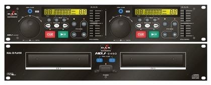 DJ CD-проигрыватель D.A.S. HDJ-2450