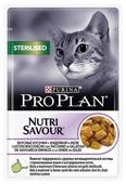 Корм для стерилизованных кошек Purina Pro Plan Nutrisavour для профилактики МКБ, беззерновой, с индейкой 85 г (кусочки в желе)