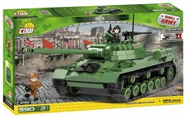 Конструктор Cobi Small Army World War II 2492 Тяжелый танк IS-3