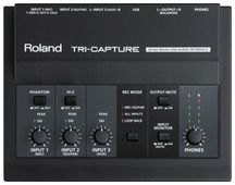 Внешняя звуковая карта Roland Tri-Capture
