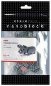 Конструктор Nanoblock Miniature NBC-049 Бегемот