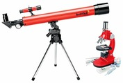 Телескоп + микроскоп LEVENHUK Команда Фиксики