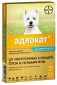 Адвокат (Bayer) Адвокат для собак 4–10кг (3 пипетки)