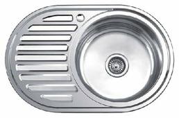 Врезная кухонная мойка Ledeme L87750-6R