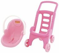 Прогулочная коляска Полесье Pink Line 2x1 (44525)