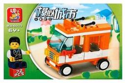 Конструктор SLUBAN Городская серия M38-B0179 Small Bus