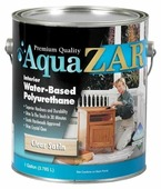 Лак ZAR Aqua Interior Water-Based Polyurethane полуматовый (3.78 л)