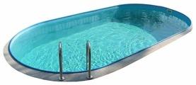 Бассейн Ibiza DL 3-150 Овальный (8 × 4.16 × 1.5 м)