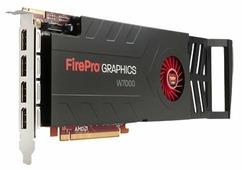 Видеокарта HP FirePro W7000 950Mhz PCI-E 3.0 4096Mb 256 bit
