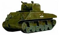 Сборная модель Умная Бумага Танк М4А2 Sherman (200) 1:35