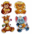Набор пазлов Vladi Toys Зоопарк (VT1106-10)