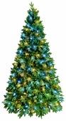 Green Trees Ель Барокко Премиум световая 1.8
