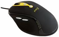 Мышь ACME Laser Gaming Mouse MA02 Black-Yellow USB