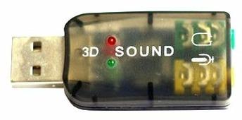 Внешняя звуковая карта ESPADA PAAU001
