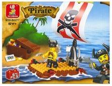 Конструктор SLUBAN Пиратская серия M38-B0277 Treasure Hunt