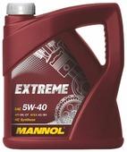 Моторное масло Mannol Extreme 5W-40 4 л