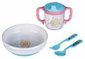 Комплект посуды Бусинка подарочный (123)