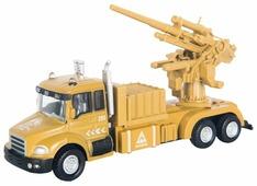 Система залпового огня Autotime (Autogrand) Military Gun Truck с орудием (34128) 1:48