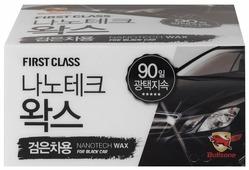 Воск для автомобиля Bullsone Nano Tech Wax для черных авто