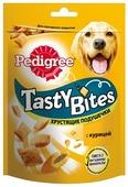 Лакомство для собак Pedigree Tasty Bites хрустящие подушечки с курицей