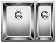 Врезная кухонная мойка Blanco Andano 340/180-U 58.5х44см нержавеющая сталь