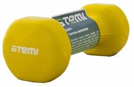 Гантель цельнолитая ATEMI AD051 1 кг