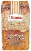С.Пудовъ Смесь для выпечки хлеба Ароматный хлеб с травами, 0.5 кг