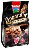 Вафли Loacker Квадратини темный шоколад 250 г