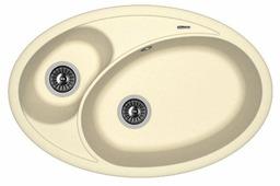 Врезная кухонная мойка FLORENTINA Селена 780 FS 78х51см искусственный гранит