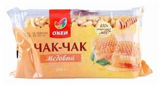 Чак-чак О'КЕЙ медовый 250 г