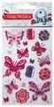 Липуня Набор блестящих наклеек Бабочки (JGS008)
