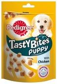 Лакомство для собак Pedigree Tasty Bites Puppy ароматные кусочки с курицей