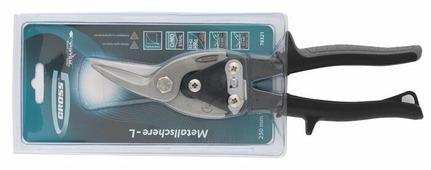 Строительные ножницы левые 250 мм Gross Piranha 78321