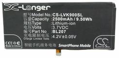 Аккумулятор Cameron Sino CS-LVK900SL для Lenovo K900