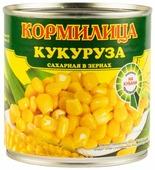 Кукуруза сахарная в зернах Кормилица жестяная банка 425 мл