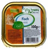 Корм для кошек My Happy Pet's с лососем 100 г (паштет)